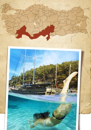 Costo Mediterráneo de Turquía