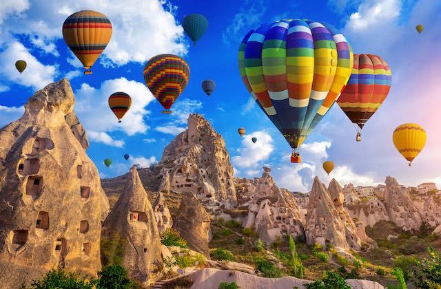 Capadocia Turquia Globos